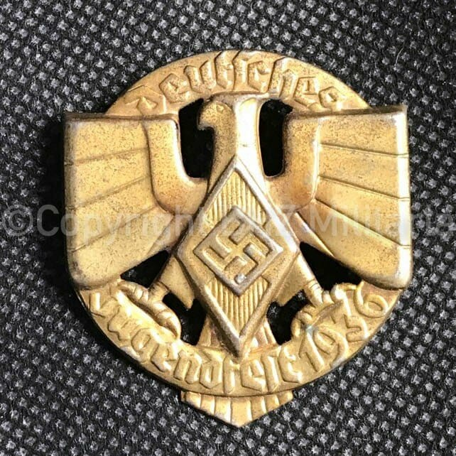 HJ Deutsches Jugendfest 1936 badge