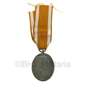 Westwall or Schutzwall Medal - 2nd type